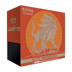 Sun & Moon GX Elite Trainer Box - Solgaleo