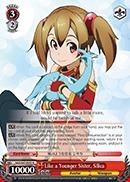 SAO/S47-E055 R Like a Younger Sister, Silica