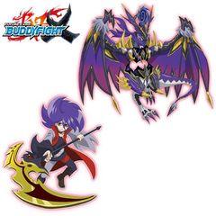 Future Card Buddyfight Trial Deck V-1 - Decimating Black Dragon