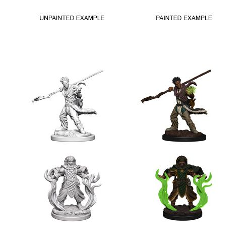 Dd Unpainted Minis Human Male Druid Dungeons And Dragons Dnd