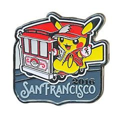 2016 World Championships Pikachu Collector's Pin