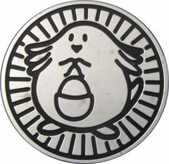 Chansey Collectible Coin (Silver)