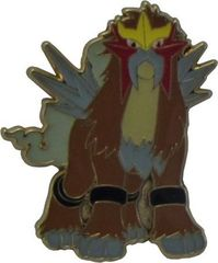 Entei Collector's Pin