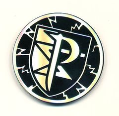 Team Plasma Collectible Coin Collectible Coin (Silver & Black)