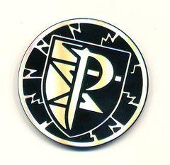 Team PlasmaCollectibleCoin Collectible Coin (Silver & Black)