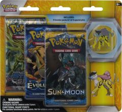 Legendary Beasts Raikou 3 Pack Blister
