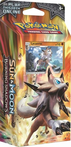 Pokemon Sun & Moon: Burning Shadows Theme Deck - Lycanroc