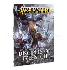 Disciples of Tzeentch Battletome (Softback)