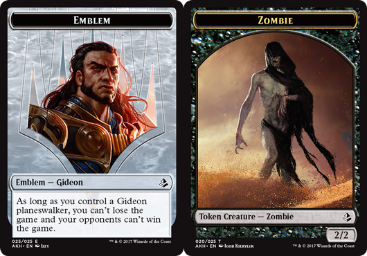 Emblem - Gideon // Zombie Token