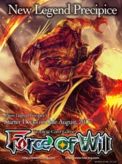 New Legend Precipice Fire Starter Deck - Blood Of Dragons