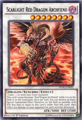 Scarlight Red Dragon Archfiend - DPDG-EN031 - Rare - 1st Edition