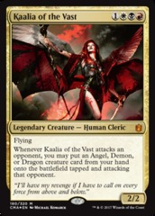 Kaalia of the Vast – Foil on Channel Fireball