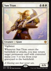 Sun Titan on Channel Fireball