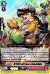 Artillery Dragon, Flint ankylo - G-FC04/057EN - RR on Channel Fireball