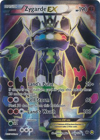 Zygarde EX - 54a/124 - Full Art Promo