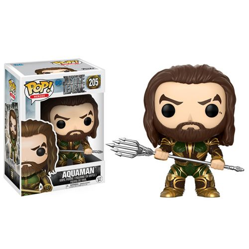 Pop! Heroes 205: Justice League (2017) - Aquaman