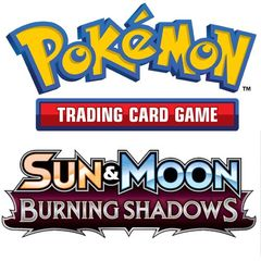 Pokemon: Sun And Moon 3 - Burning Shadows Theme Deck Display