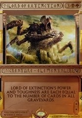 Lord of Extinction - Foil on Channel Fireball