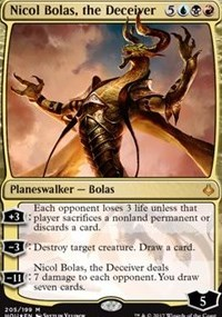 Nicol Bolas, the Deceiver - Foil - Planeswalker Deck Exclusive