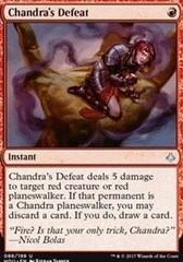 Chandra's Defeat - Foil