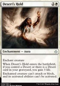Deserts Hold - Foil