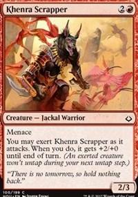 Khenra Scrapper - Foil