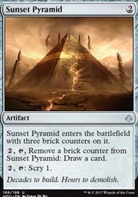 Sunset Pyramid - Foil