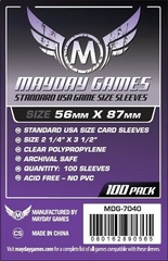 Mayday - Standard Usa Sleeves 56Mm X 87Mm 100Ct