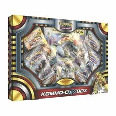 Kommo-o GX Box on Channel Fireball