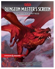 5th Edition D&D Dungeon Master's DM Screen Reincarnated