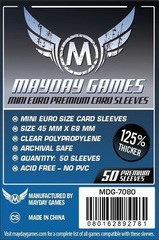 Mayday - Premium Mini Euro Sleeves 45Mm X 68Mm 50Ct
