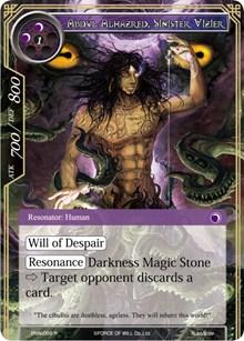 Abdul Alhazred, Sinister Vizier - ENW-069 - R - Foil