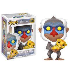 Pop!  Disney 301: The Lion King - Rafiki With Simba