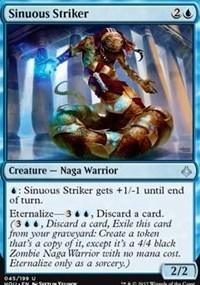 Sinuous Striker - Foil