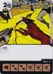 Ace the Bat Hound - Taking a Bite Out of Crime (Die and Card Combo)