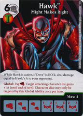 Hawk - Might Makes Right (Die and Card Combo)