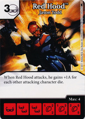 Red Hood - Jason Todd (Die and Card Combo)