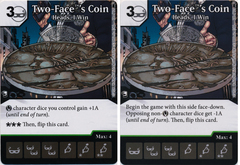 Two-Face's Coin - Heads, I Win (Die and Card Combo)