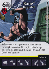 Bane - Knightfall (Die and Card Combo) - Foil