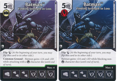 Batman - Finding Strength in Loss (Die and Card Combo) - Foil