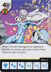 Dove - The Light of Order (Die and Card Combo) - Foil