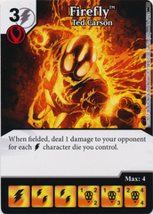 Firefly - Ted Carson (Die and Card Combo) - Foil