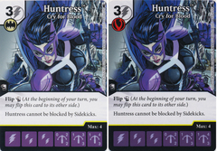 Huntress - Cry for Blood (Die and Card Combo) - Foil