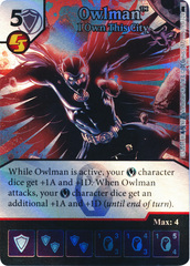 Owlman - I Own This City (Die and Card Combo) - Foil