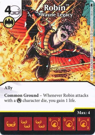 Robin - Wayne Legacy (Die and Card Combo) - Foil