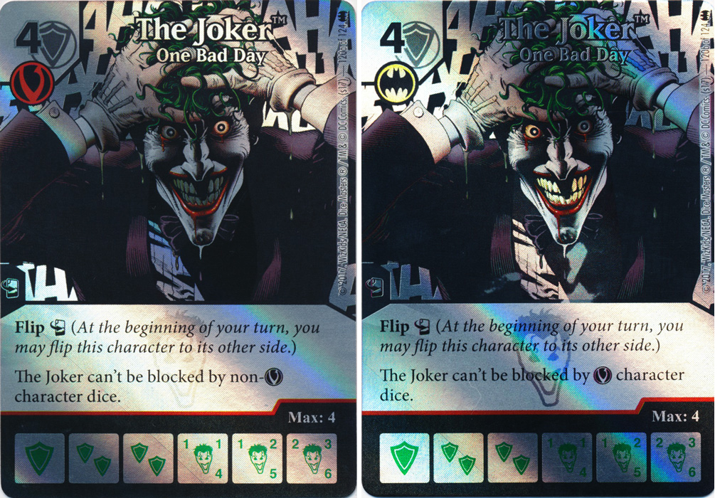 The Joker - One Bad Day (Die and Card Combo) - Foil