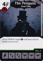 The Penguin - Fowl Play (Die and Card Combo) - Foil