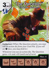 The Question - Find the Answers (Die and Card Combo) - Foil