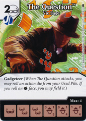 The Question - Vic Sage (Die and Card Combo) - Foil