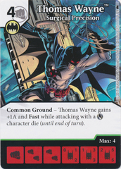 Thomas Wayne - Surgical Precision (Die and Card Combo) - Foil